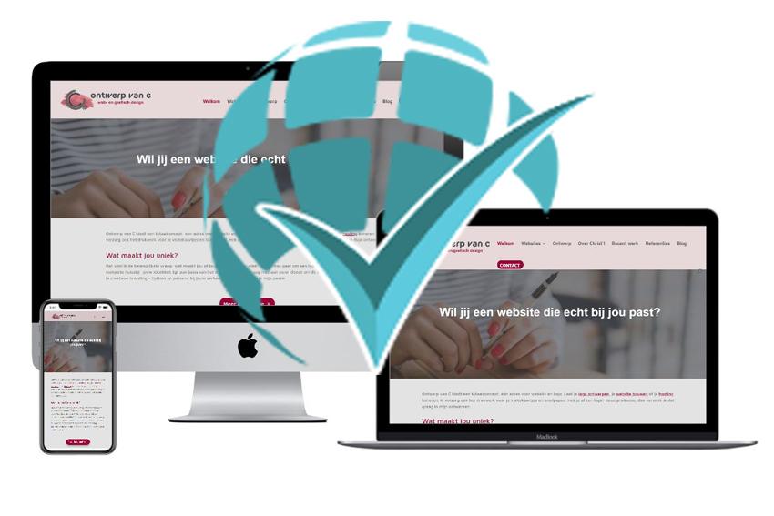 Geregistreerd Webdesigner Ontwerp van C Mill NLGW