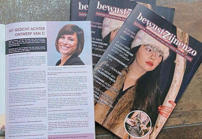 Interview in magazine
