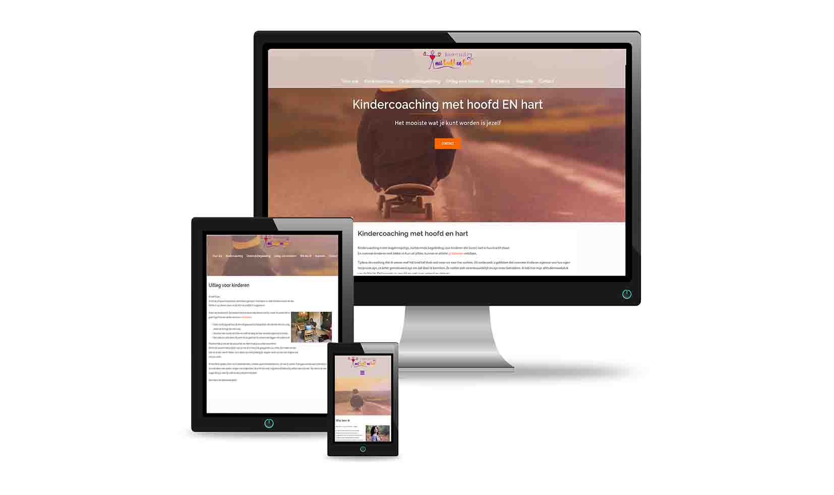 website webhosting domeinnaam Kindercoaching