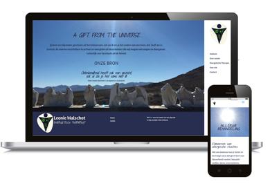 Website en logo totaal ontwerp voor praktijk in Sint Anthonis bij Boxmeer, Overloon