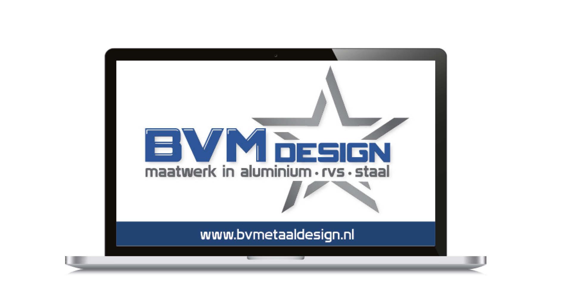 Logo voor BVM design