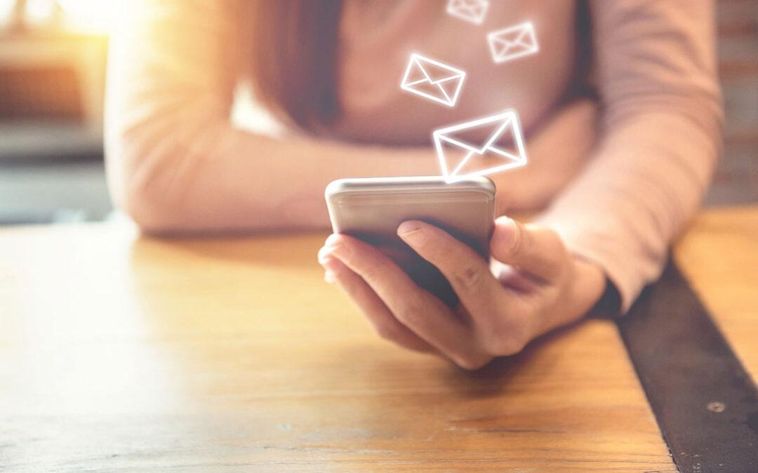Mail instellen voor telefoon en laptop