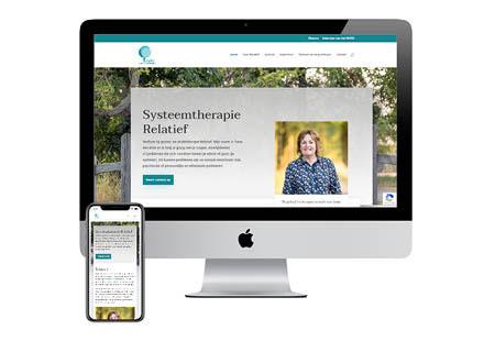 Nieuwe website therapeut Relatief Cuijk