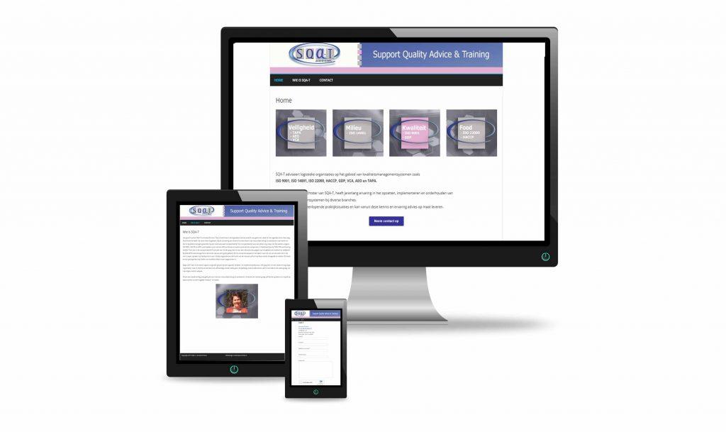 SQA-T website ontwerp Annette Ermers St. Hubert