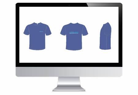 Wie kan er een t-shirt ontwerp maken en bedrukken