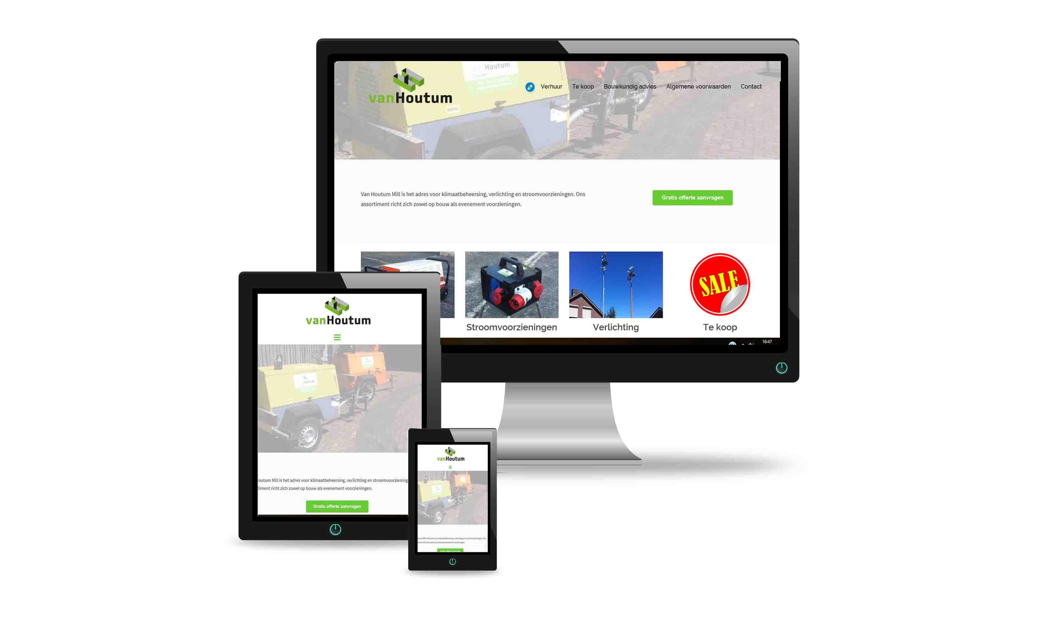 website ontwerp design portfolio voorbeelden