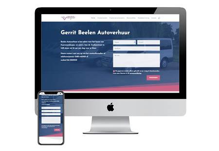 Website Beelen Verhuur Mill