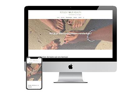 Website Voetreflexpraktijk Rosmalen Reflex Your Health